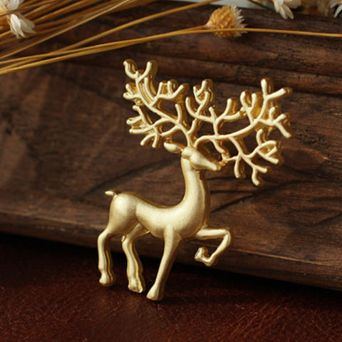 2019 Hot Animal Fashion Rushed Dreams Oz Frosted Matte Art Collar Brooches Pins Brooch For Women And Men Jewelry