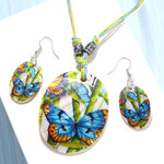 Colorful Summer Necklace and Earrings Set