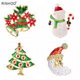 Merry Christmas brooches pins Brides wedding Clothing Accessories costume Jewelry For Women Family Gift home decoration