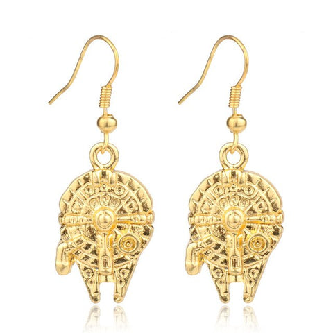 dongsheng Star War Jewelry Costume Jewelery Earrings for Women Vintage Jewelry Women Dangle Earrings -15