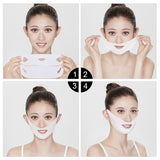 3 pc 4D V Face Mask Chin Cheek Lift  Facial Slimming Mask