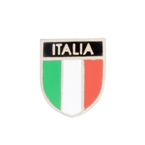 American Italy Canada Flags Enamel Brooch Patriotism Lapel Pins Fashion Jewerly DXAA