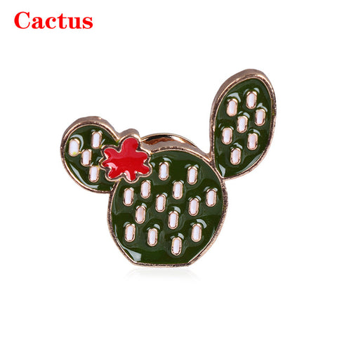 Funny Cute Cartoon Badge Brooch Collection Alpaca Cat Toast Cactus Tree Enamel Lapel Pin Clothes Bag Jewelry Women Creative Gift