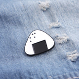 pins Brooches For Women Onigiri pins Badge white rice with black Seaweed enamel Pin And Brooch fastfood lapel pin creative