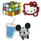 navidad Harajuku cute shirt apparel brooches pins and brooches cartoon mouse Rubik Cube Fruit cat bear brooch BR0007
