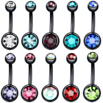 1PC Steel Piercings 14G Navel Piercings Belly Button Piercing Nombril Dangle Earrings Belly Bar Piercings Body Jewelry