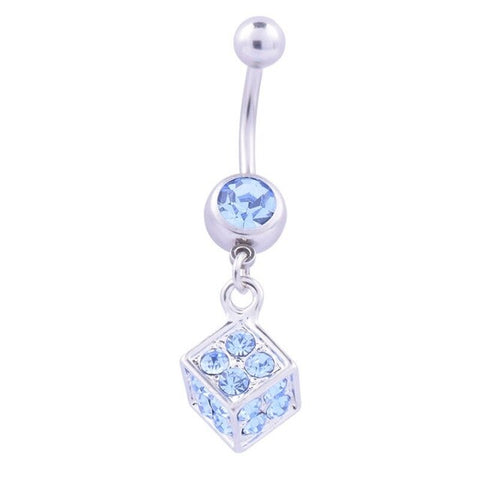 New Brand Fashion Style Crystal Body Jewelry Belly Button Ring Body Piercing Navel Piercing  Ombligo