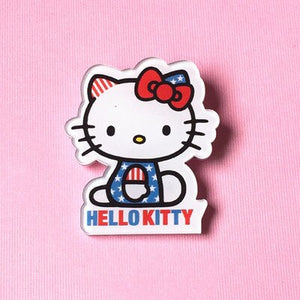 New Shirt Cute Harajuku Cartoon Decoration Brooches Badge Acrylic crown girl perfume Fruit Animal mouse dog cat Broche Brooch