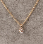 2016simple Fashion Crystal Pendant Ball Rhinestone Long Collares Mujer Necklaces & Pendan High Texture Gold Necklace