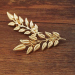 New Women Brooch Jewelry Fashion Brooch Metal Badge Pin Leaf Brooch Pin Plant Costume Jewelry For Women Broches Mujer