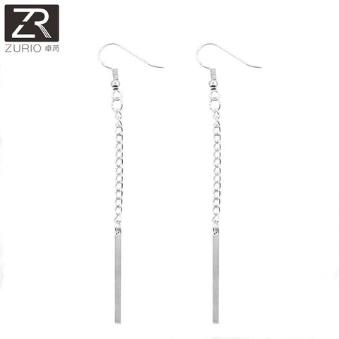 New Fashion Gold and Silver Color Simple Earring For Women Jewelry Vintage Earrings Gifts