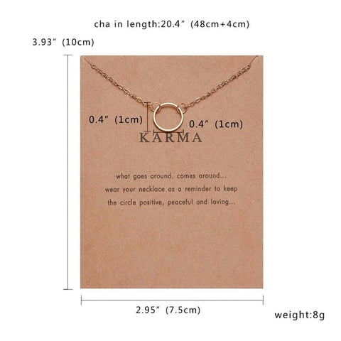 Fashion I Love You Heart Necklace Stars Bow Square Geometric Circle Necklaces Vintage Necklace Pendant Charm Women Friend Gift