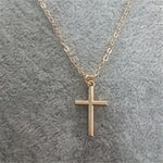 Cross Choker Necklace For Women Jewelry Chain Necklaces Silver Statement Necklace Men Collier Femme 2018 Collar Necklaces Gold