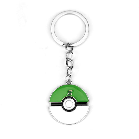 Anime Cartoon Pocket Monster keychain Pokemon go ball Llavero Chaveiro Figures Keyring Cosplay Costume Collectible Bag gift