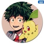 1Pc Anime My Hero Academia Cosplay Badge Cartoon Boku No Hero Academia Brooch Pins Izuku Collection Bags Badges For Backpacks