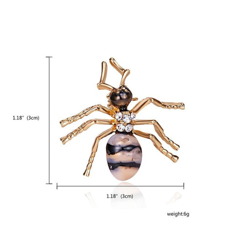 New Natural Animals Jewelry Brooch Pins Bee Dragonfly Butterfly Insect Brooches For Women Man Costume Brooch Pins Gift