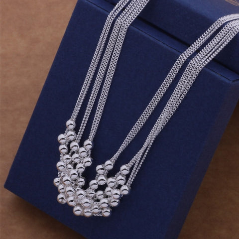 AN539 Hot 925 sterling silver Necklace 925 silver fashion jewelry pendant  /awdajnka bbhajsoa