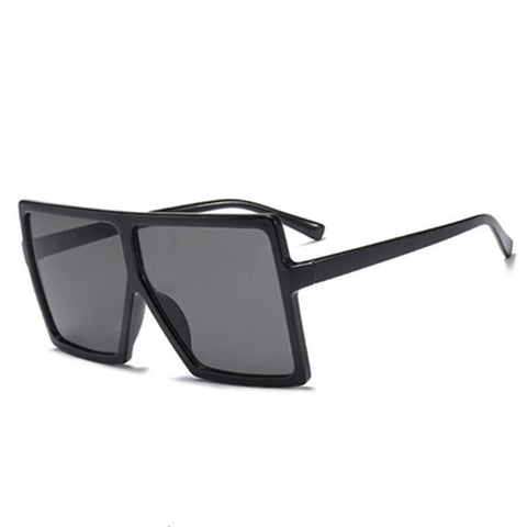 Vintage Oversize Square Sunglasses Women
