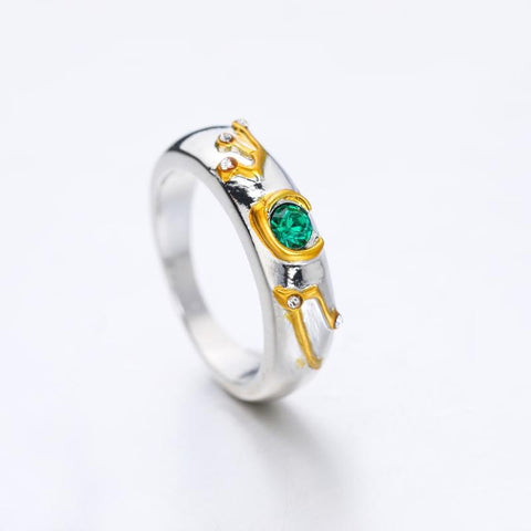 Game The Legend of Zelda Crystal Ring Cosplay Unisex Rings Jewelry Gift #6-#10