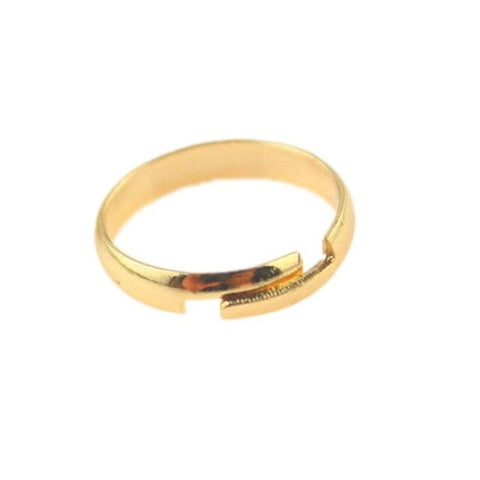 1 pcs New Arrival Fashion Smooth Foot Ring Color Gold/ Silver Plated Standard Inner Diameter 1.4cm