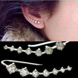 Exquisite Crystal Dipper Style Earrings