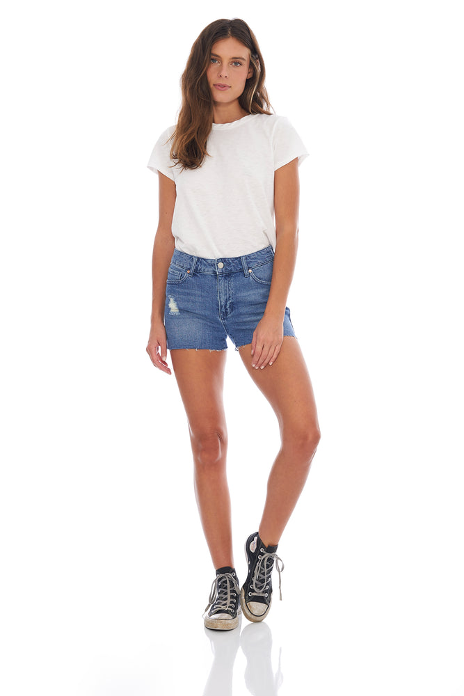 NEW! Hailey Cut Off Short