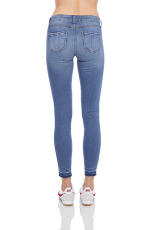 Ashley Destructed Release Hem Skinny