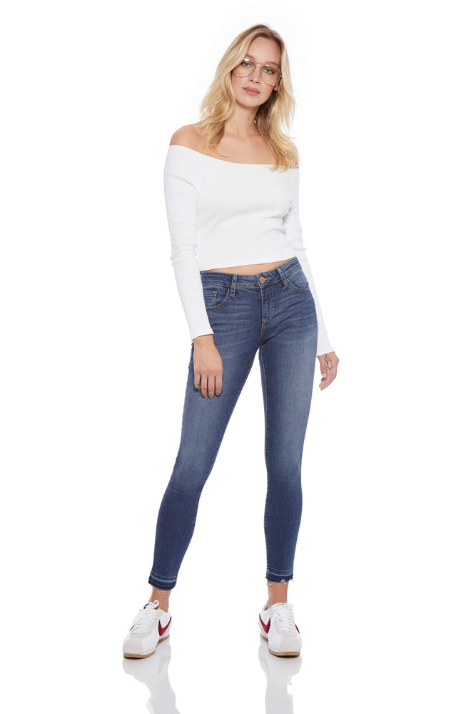 Ashley Release Hem Skinny