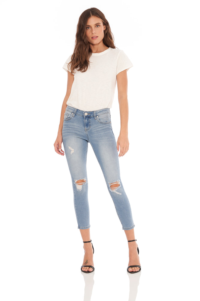 Ashley Destructed Ankle Skinny