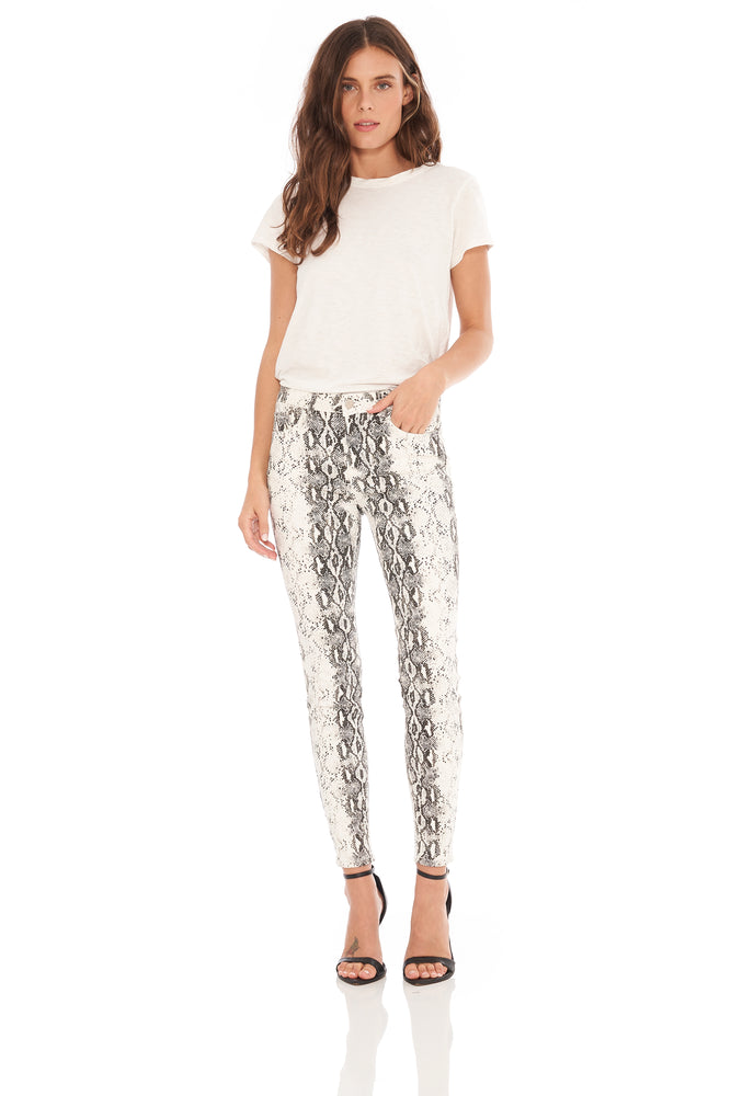 Ashley Snake Print Skinny
