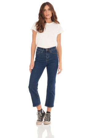 Madison Blue High Waisted Crop