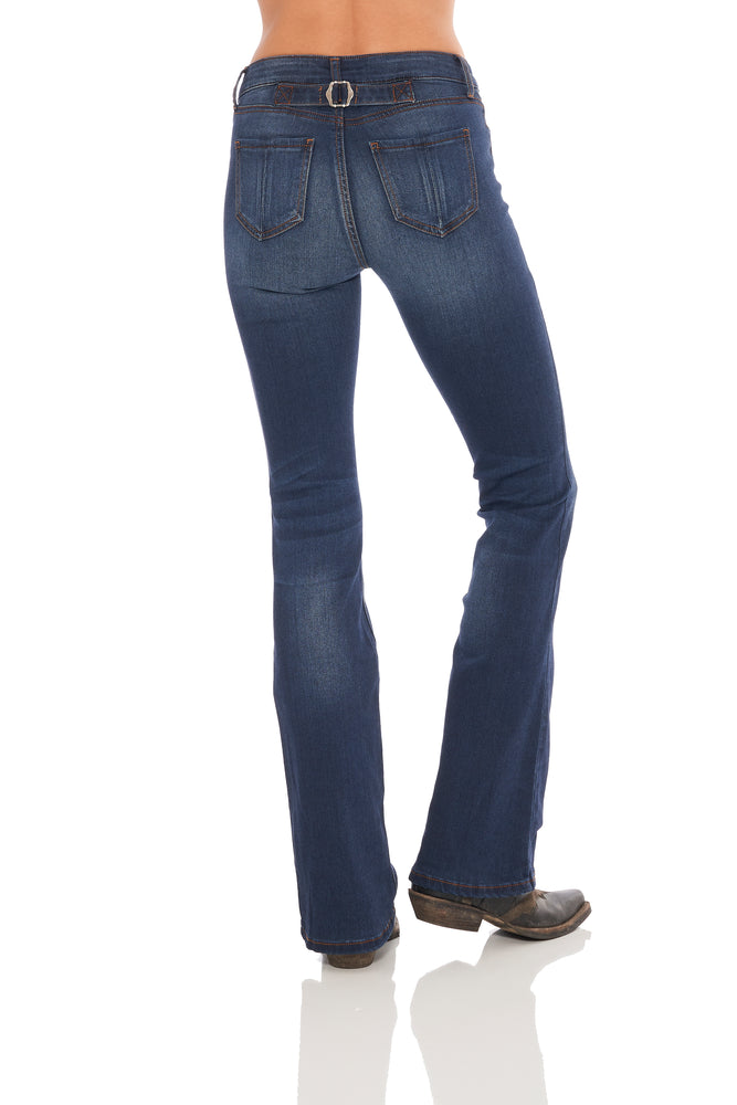 Dolly Adjustable Back Bootcut