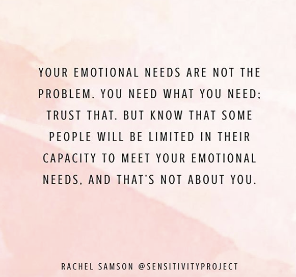 What are emotional needs?
