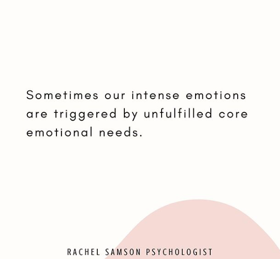 Emotional needs are universal.