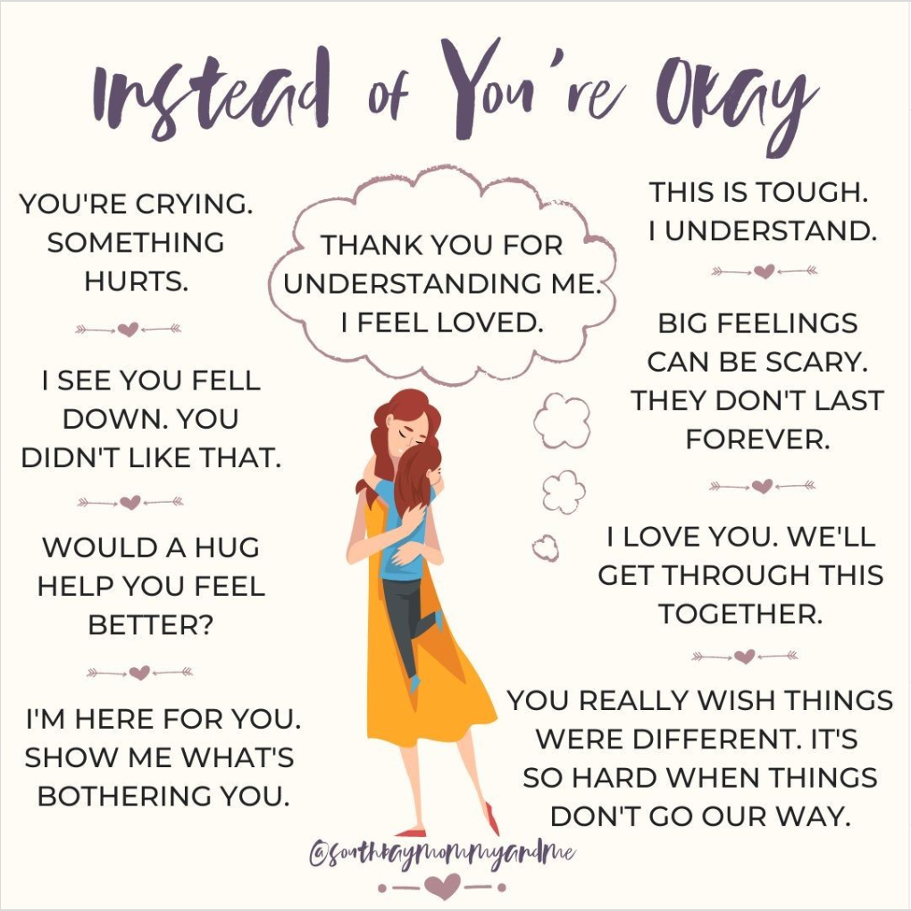 Instead of 'You're Okay'