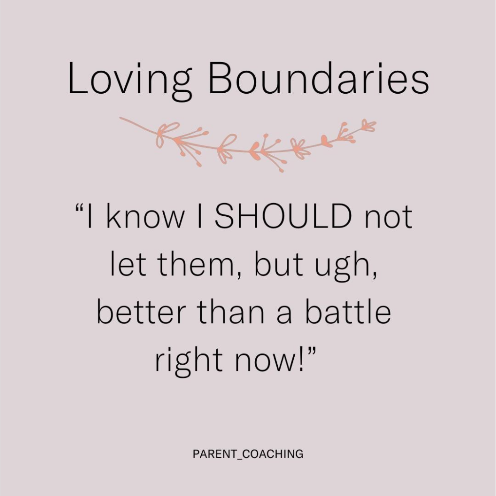 Loving Boundaries