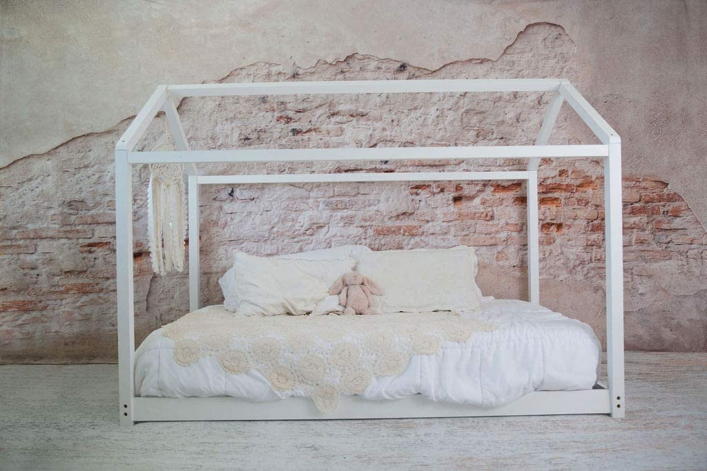 Be Mindful | Twin Size House bed in White