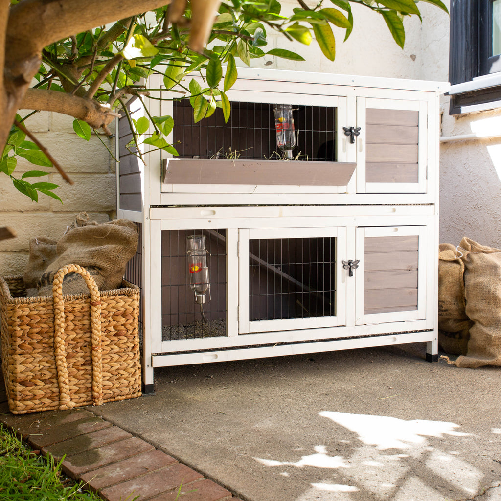 Indoor Outdoor Bunny Hutch