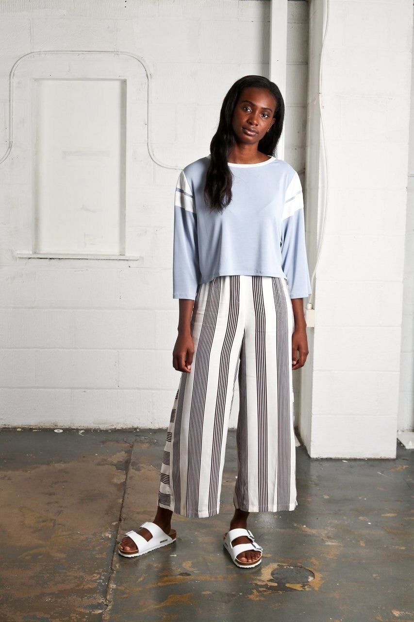 Stripe Culottes by Native Youth