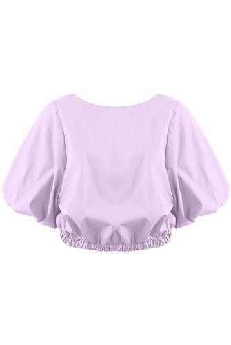 Lilac oversized top