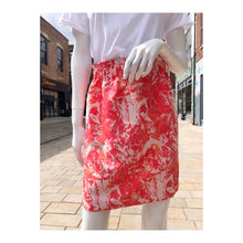 Load image into Gallery viewer, HANDMADE abstract brocade skirt