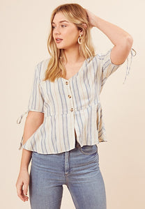 Stripe top by Influence