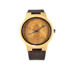 Delicate Arch Engraved National Park Wooden Watch