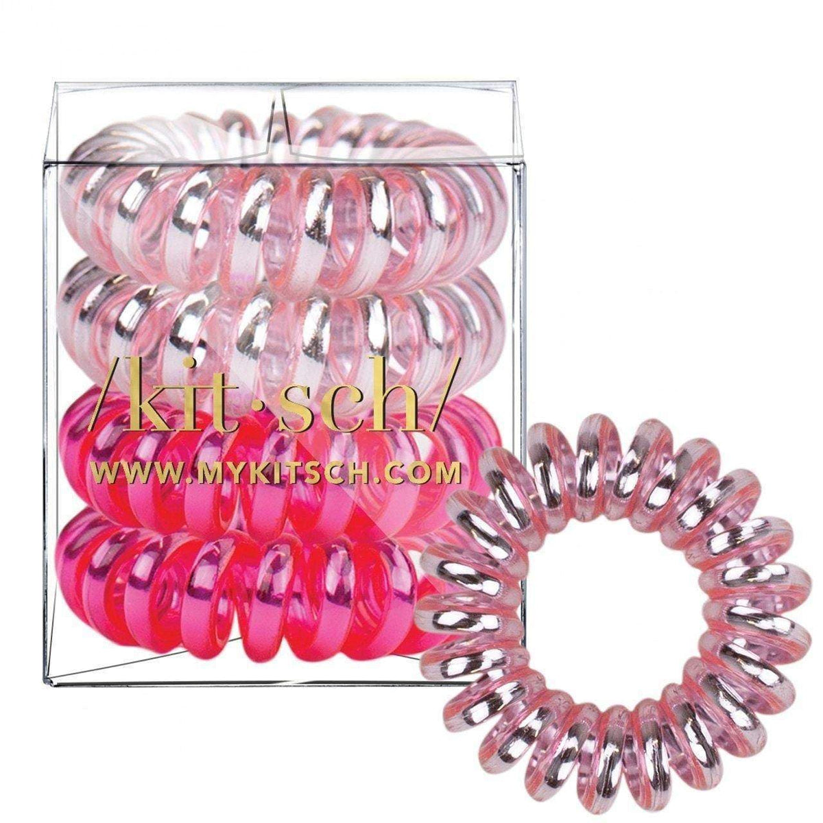 4 Pack Hair Coils - Crush - KITSCH
