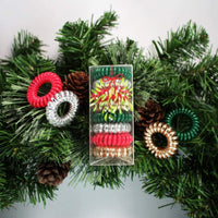 8 Pack Hair Coils - Holly - KITSCH