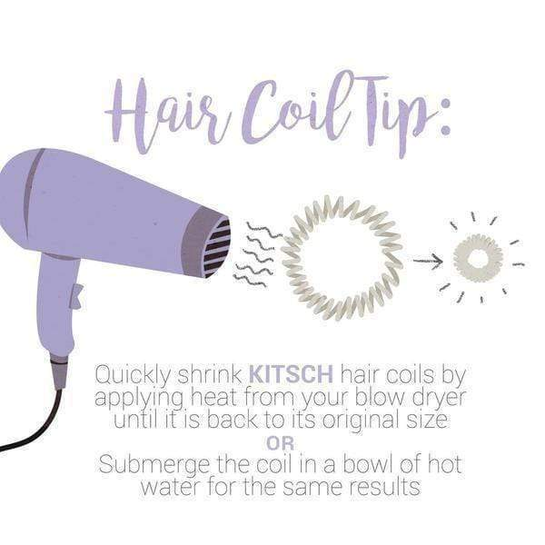 8 PACK HAIR COILS - RITUALS - KITSCH