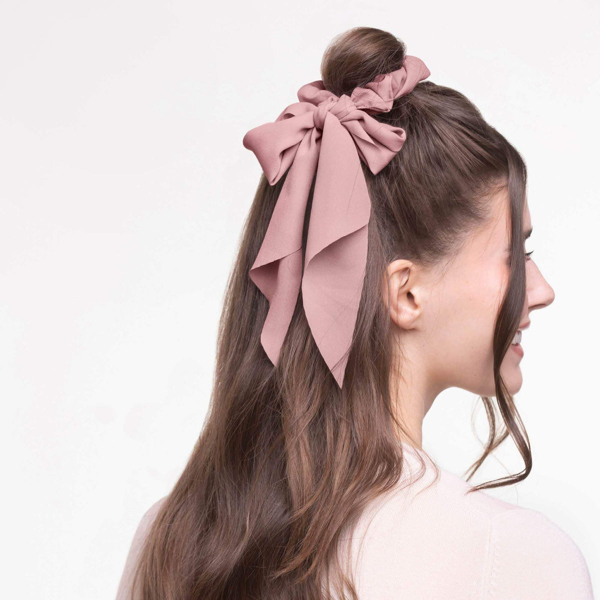 "Netflix ""To All the Boys"" Hair Accessories Scarf Scrunchie"