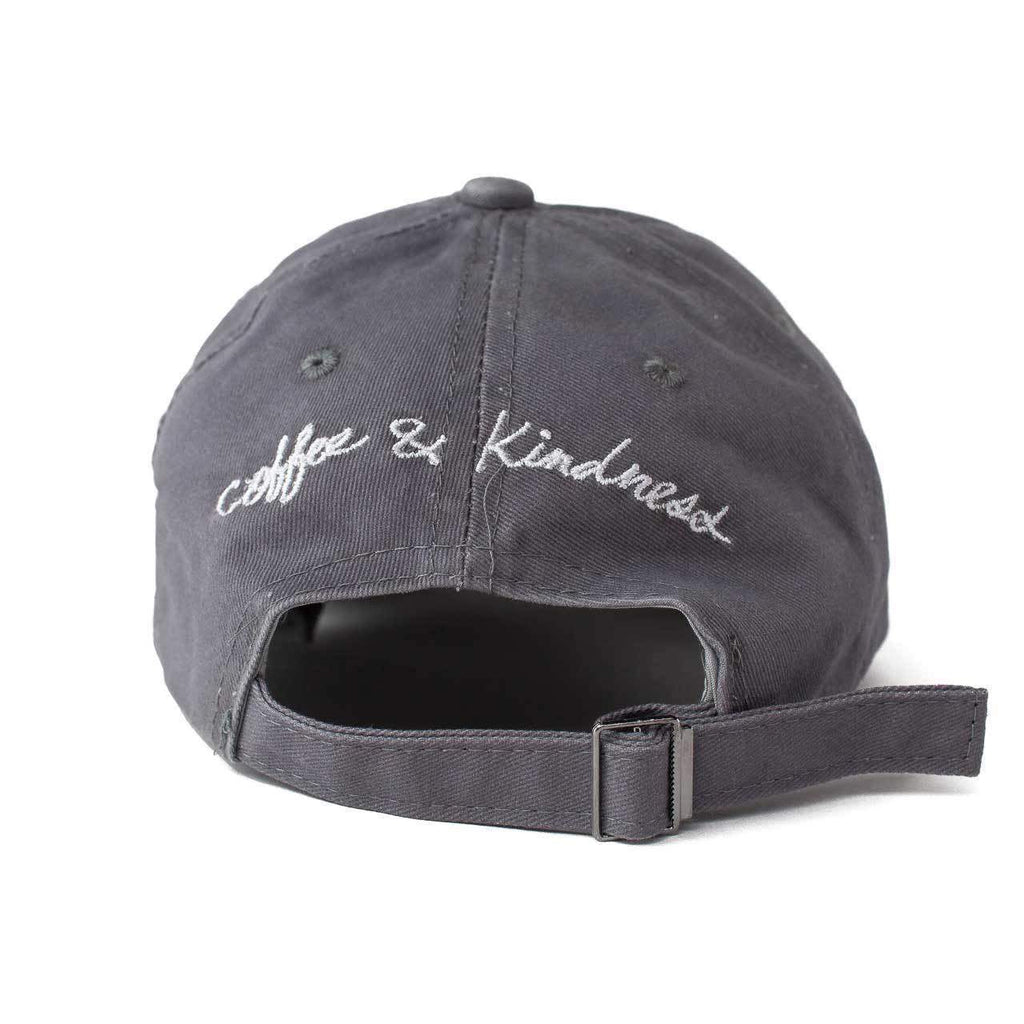 KITSCH Hair Accessories Baseball Hat- Coffee & Kindness