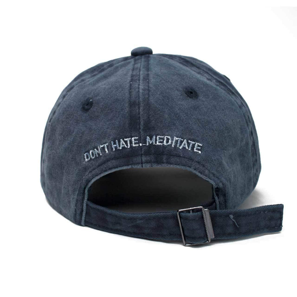 KITSCH Hair Accessories Baseball Hat- Don't Hate, Meditate