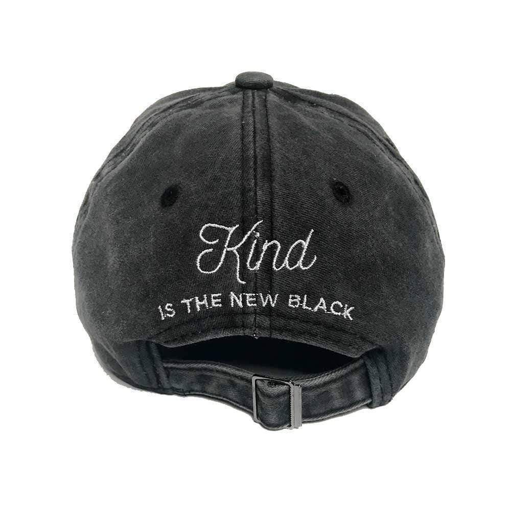 KITSCH Hair Accessories Baseball Hat- Kind Is The New Black